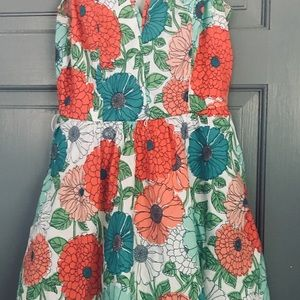 Bailey Blue Floral Dress Sz. Medium